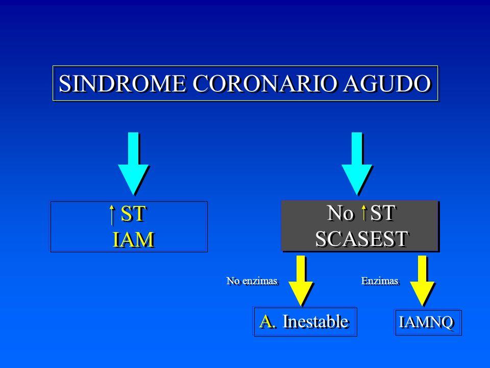 SINDROME CORONARIO AGUDO A.