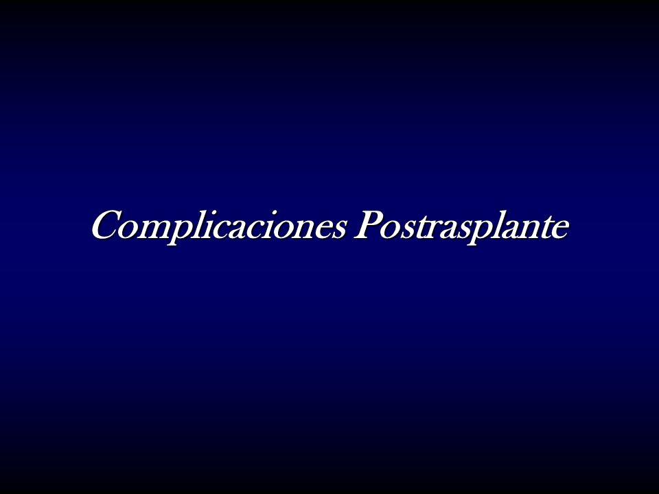Complicaciones Postrasplante
