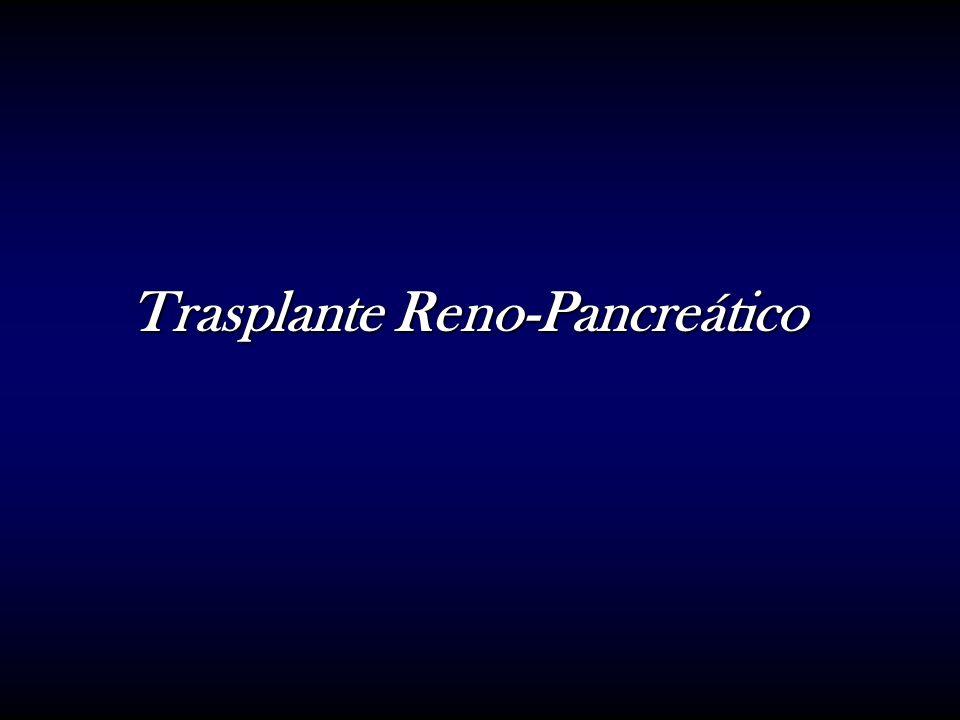 Trasplante Reno-Pancreático
