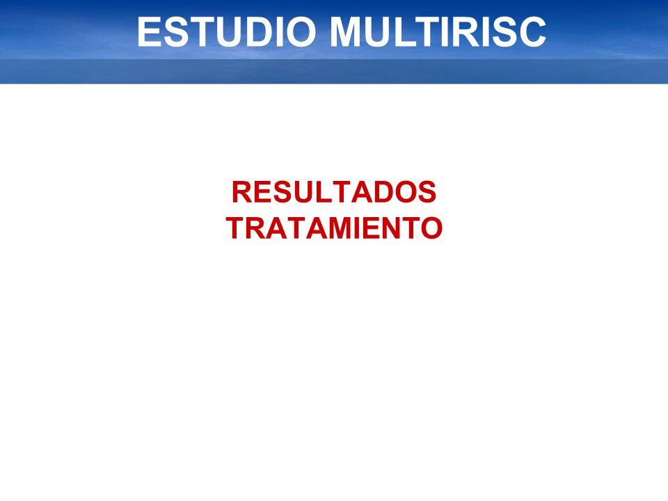 ESTUDIO MULTIRISC RESULTADOS TRATAMIENTO