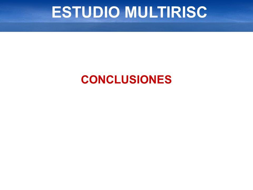 ESTUDIO MULTIRISC CONCLUSIONES