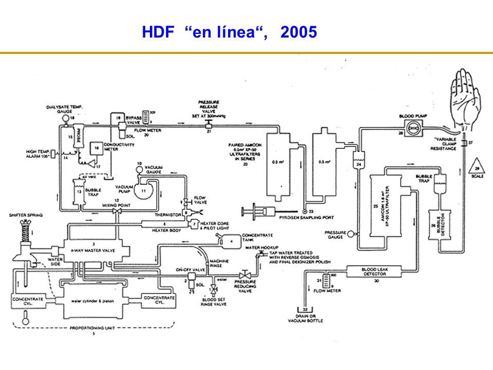 PCR 5,6 ± 5,2 7,3 ± 10,2 ns HD-HF HDF-OL p 2 – MG 26,8 ± 4,9 20,8 ± 4,9 < 0,001 Isabel Berdud et al.