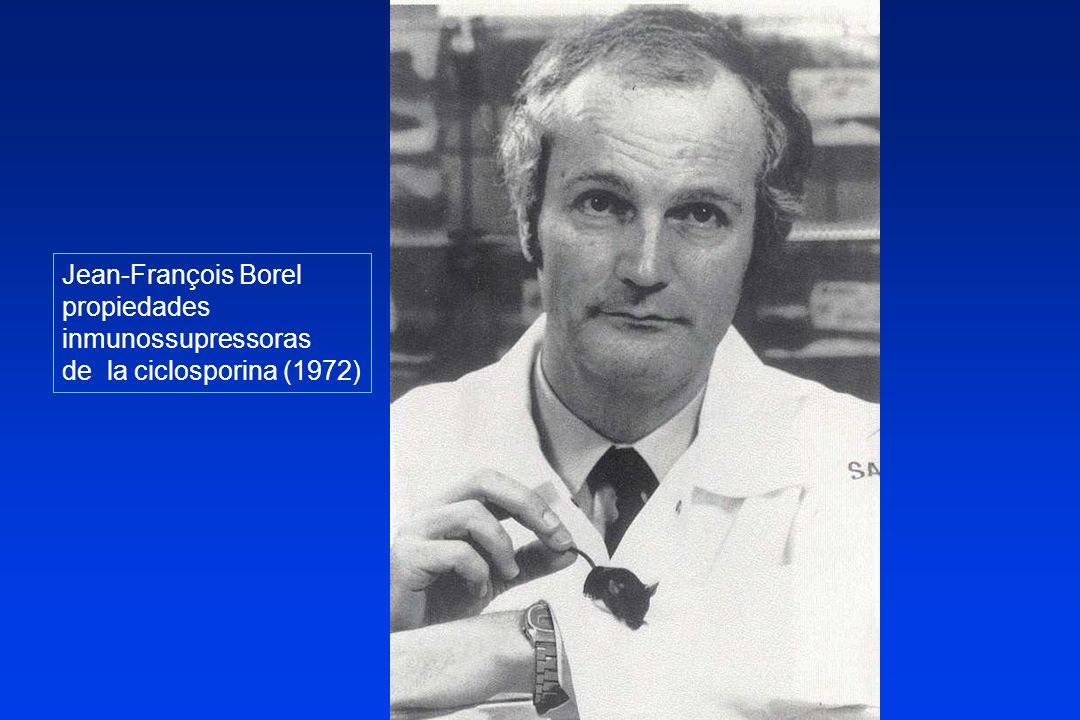 Inmunosupresión convencional AZA-CS Inicios del trasplante hasta mediados 80