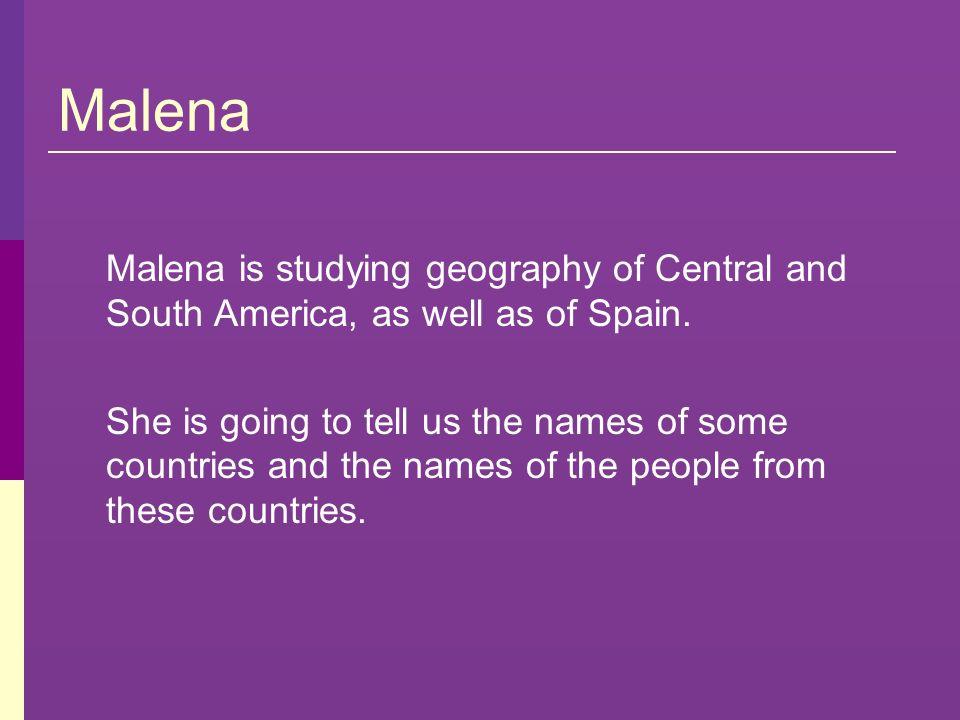 América del Sur El país es Ecuador y los habitantes son ecuatorianos.