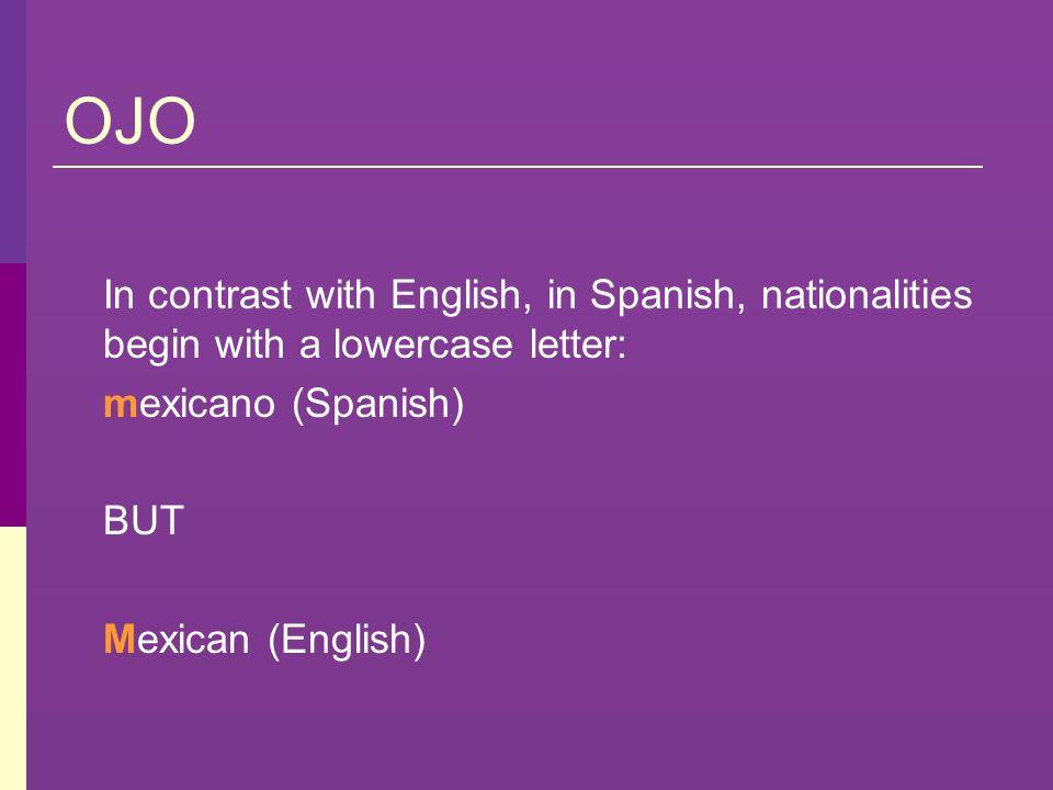 América Central (cont.) Guatemala es el país y los habitantes son guatemaltecos.