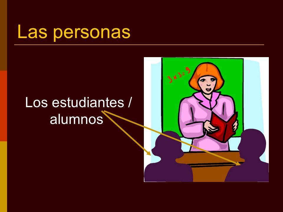Características de los alumnos El alumno es responsable porque estudia.