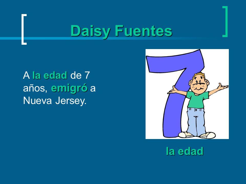 Daisy Fuentes emigrar