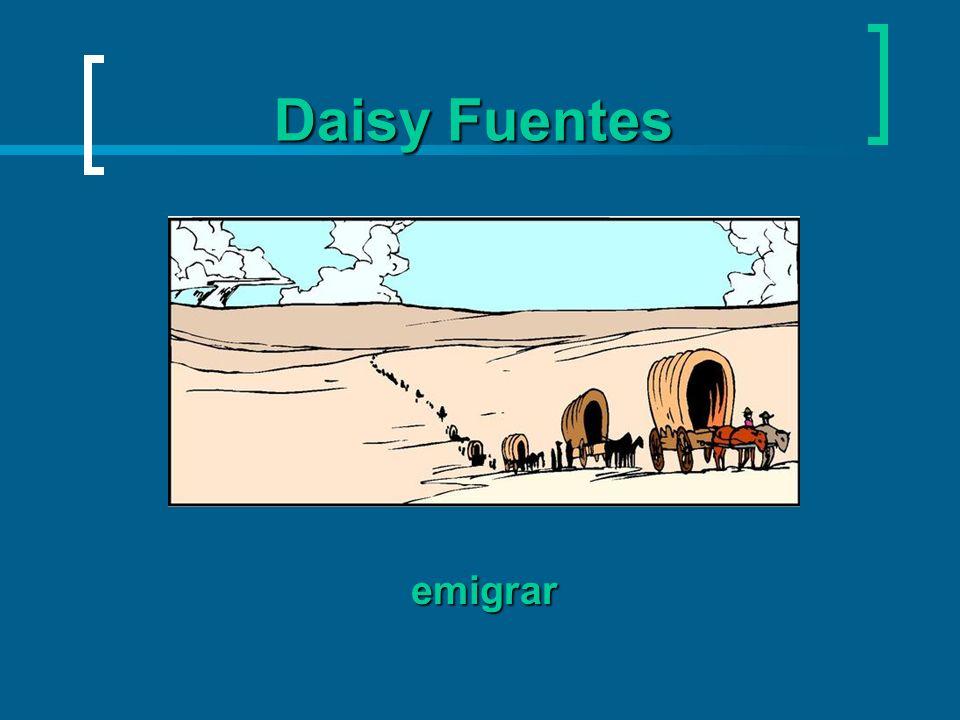 aceptó cargo En 1985 Daisy aceptó su cargo (position) como periodista de una emisora de televisión en español en Nueva York.