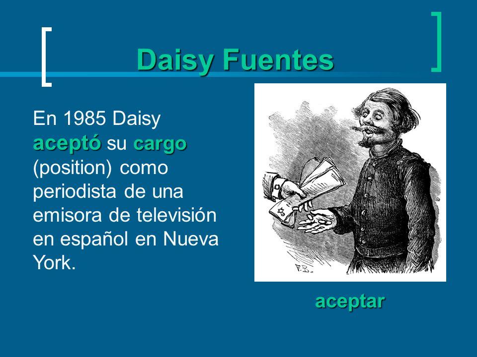 Daisy Fuentes fama.Después, MTV la contrató para ser presentadora de MTV Internacional.