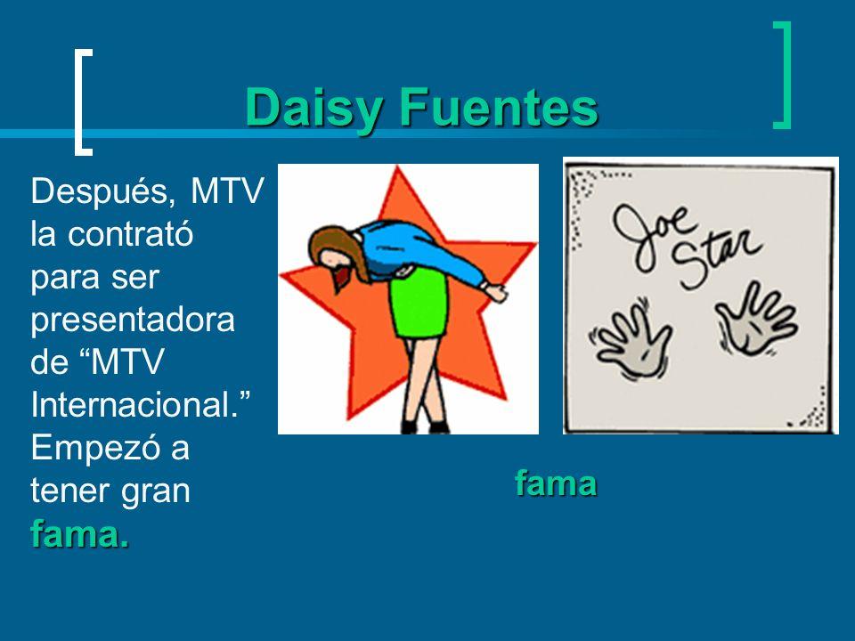 Daisy Fuentes portada Ha aparecido en la portada de revistas en español como Cosmopolitan y Vanidades.
