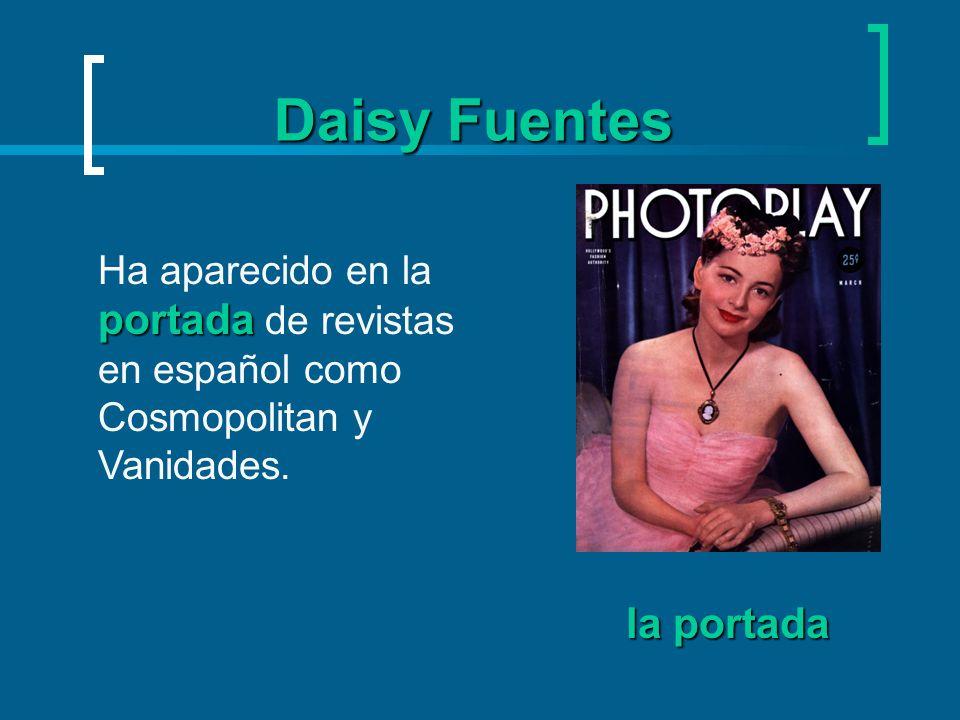 Daisy Fuentes ha actuado También Daisy ha actuado en varias películas, incluso CURDLED. actuar
