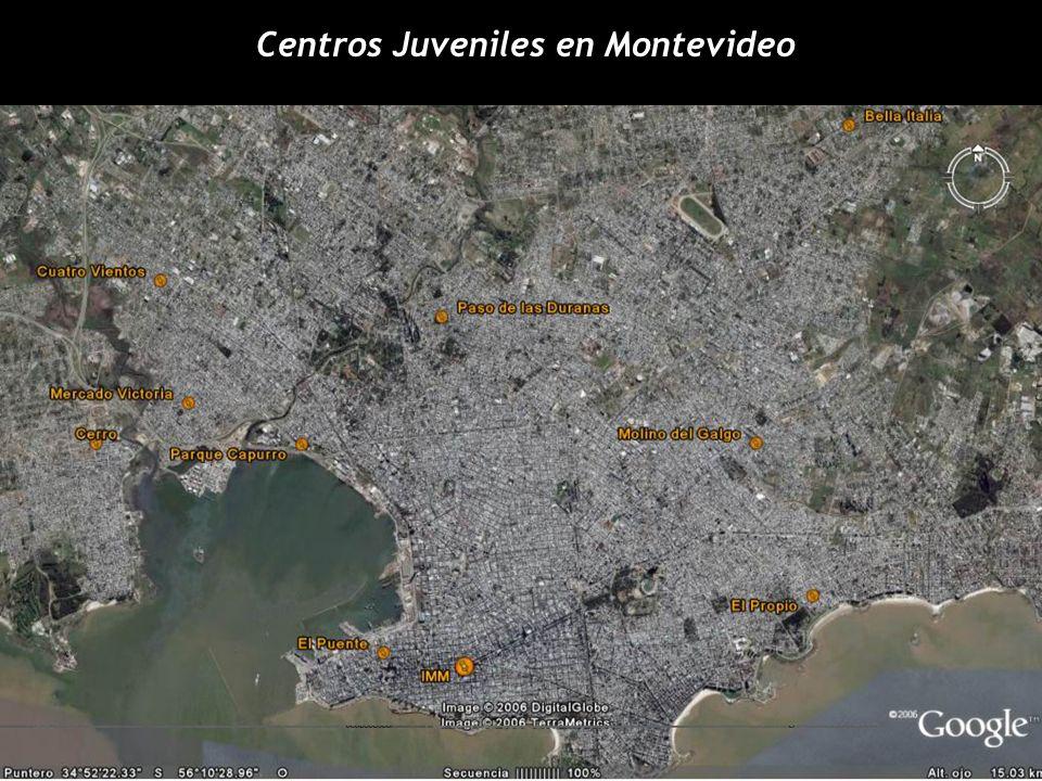 Centros Juveniles en Montevideo