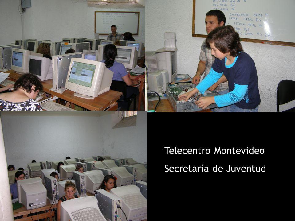 Telecentro Montevideo Secretaría de Juventud