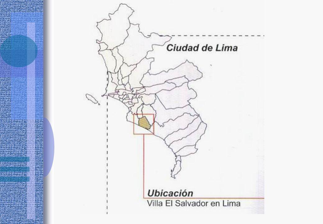 Villa El Salvador, distrito popular del área Metropolitana de Lima.