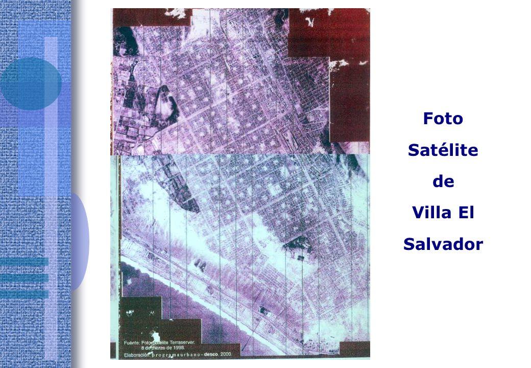 Foto Satélite de Villa El Salvador