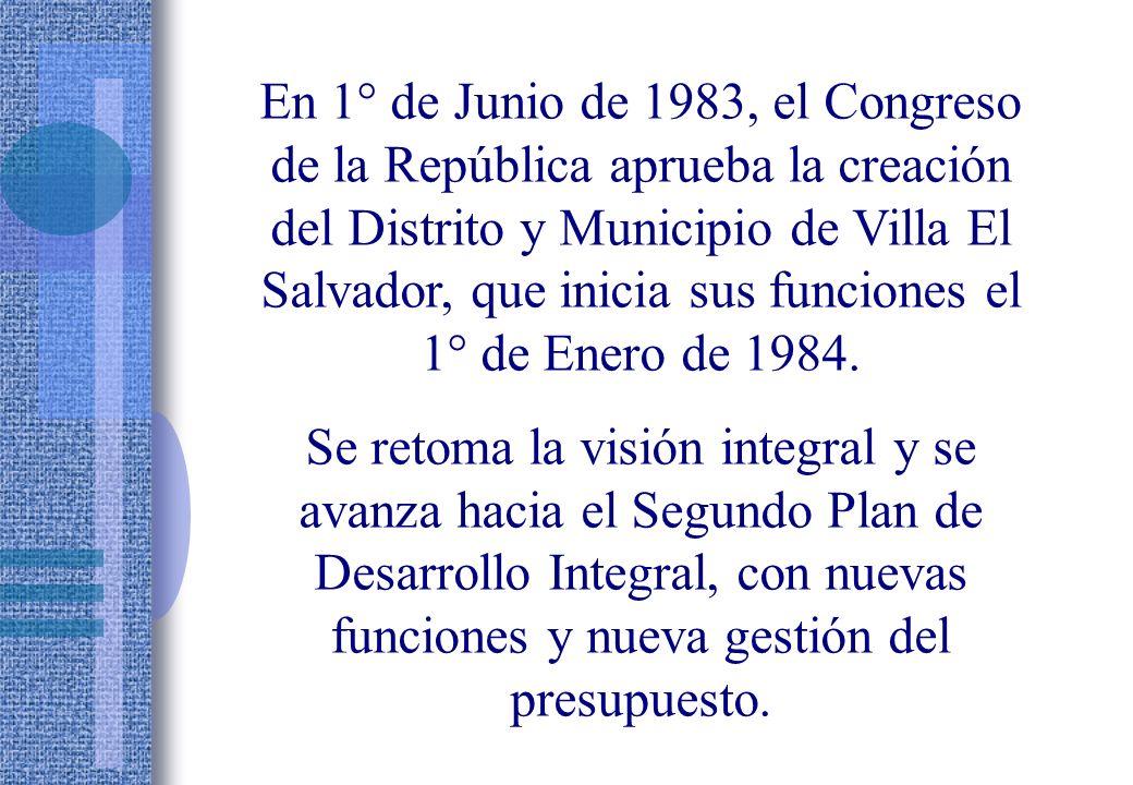 En Julio de 1973, la Primera Convención de Pobladores aprueba la organización básica integral de Villa El Salvador: Cooperativa Integral Comunal Autogestionaria, que, poco después se transformaría en la CUAVES: Comunidad Urbana Autogestionaria de Villa El Salvador.