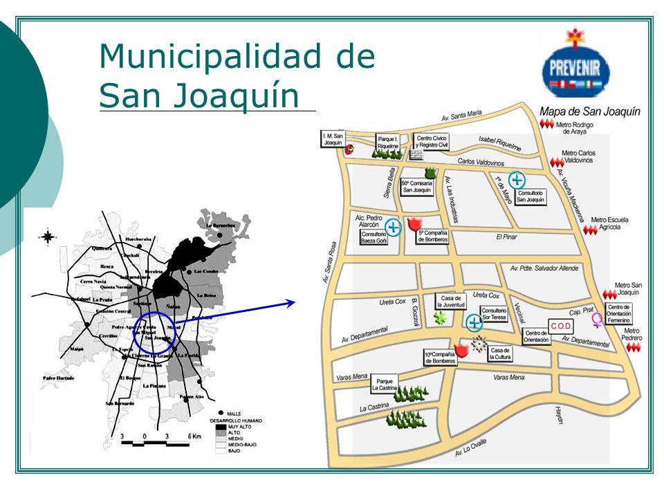 Municipalidad de San Joaquín....