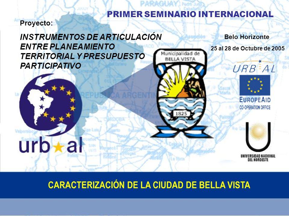 Información General: ASPECTOS FÍSICOS NATURALES BELLA VISTA El Departamento de Bella Vista se halla ubicado en la zona Oeste de la Provincia de Corrientes.