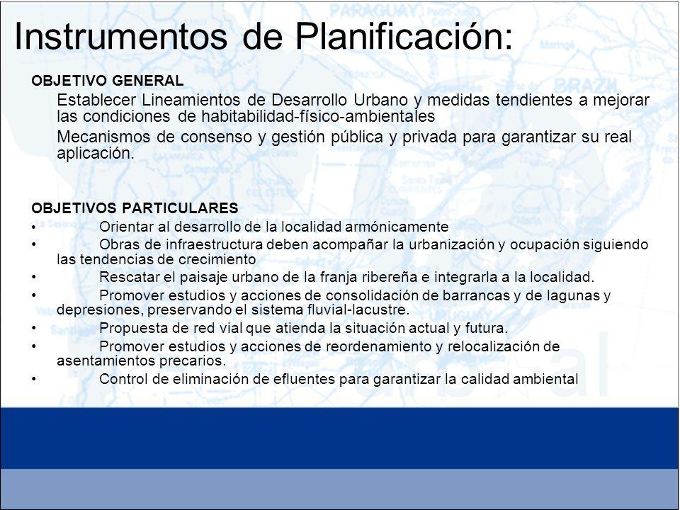 OBJETIVO GENERAL Establecer Lineamientos de Desarrollo Urbano y medidas tendientes a mejorar las condiciones de habitabilidad-físico-ambientales Mecan
