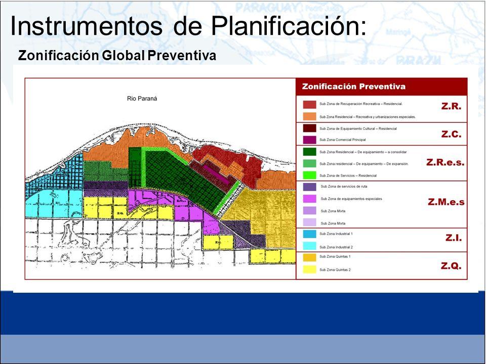 Zonificación Global Preventiva