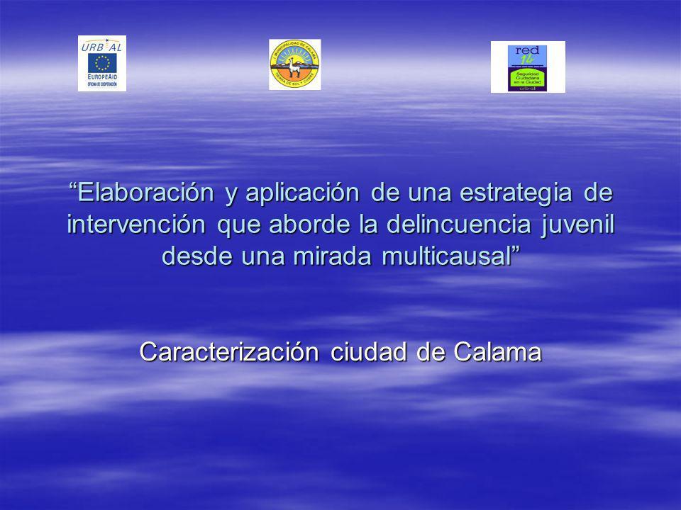 Año 2000 Año 2003 AreaIndigentes Pobres no indigentes Indigentes País5,620,24,718,7 Región3,213,43,218,5 Calama1,38,24,811,9