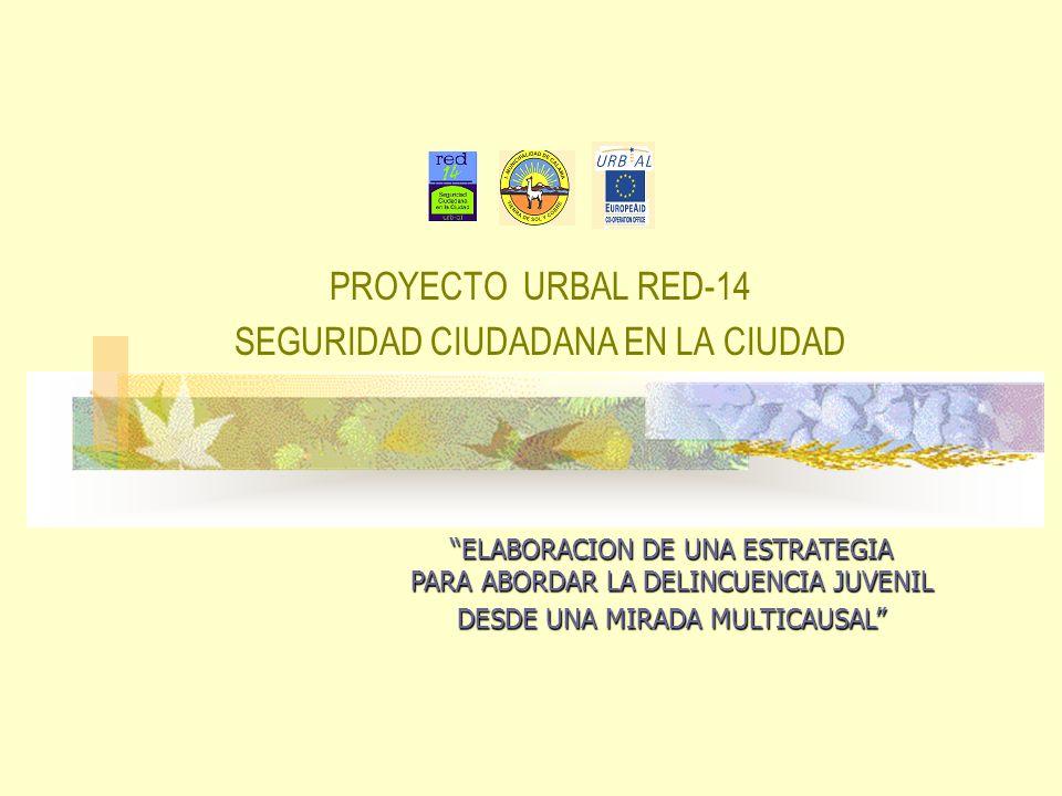 PROYECTO URBAL RED-14 SEGURIDAD CIUDADANA EN LA CIUDAD ELABORACION DE UNA ESTRATEGIA PARA ABORDAR LA DELINCUENCIA JUVENIL DESDE UNA MIRADA MULTICAUSAL