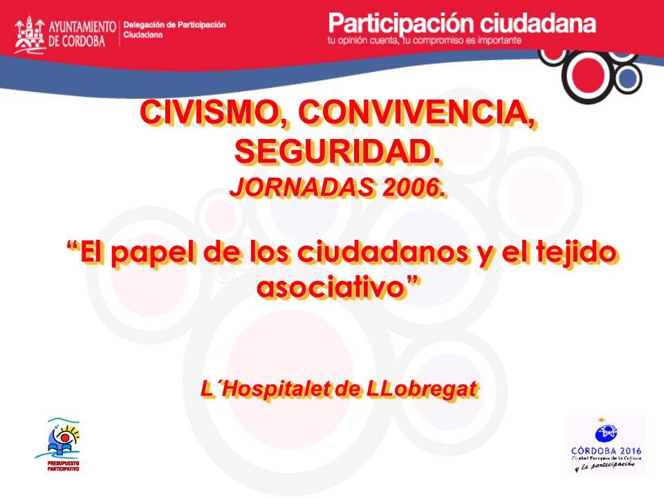 AYUNTAMIENTO DE CÓRDOBA AYUNTAMIENTO DE CÓRDOBA ORGANIZACIÓN ADMINISTRATIVA PRESIDENCIA, SEGURIDAD, MOVILIDAD, IGUALDAD, PARTICIPACIÓN, COOPERACIÓN SOCIAL: JUVENTUD, SALUD, CONSUMO, SERVICIOS SOCIALES SERVICIOS CULTURALES: CULTURA, FERIA Y FESTEJOS, EDUCACIÓN E INFANCIA, TURISMO Y PATRIMONIO DE LA HUMANIDAD ECONOMÍA, COMERCIO, EMPLEO, GESTIÓN, PERSONAL URBANISMO, VIVIENDA, INFRAESTRUCTURAS, MEDIO AMBIENTE