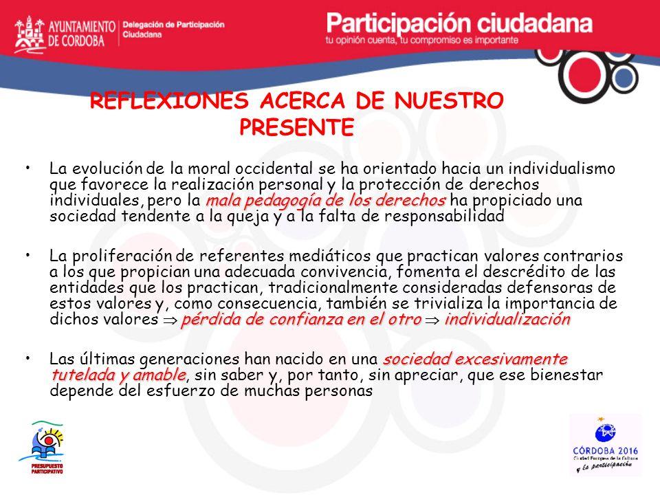 MODELO DE CIUDAD Y TRANSVERSALIDAD LA PLANIFICACIÓN MUNICIPAL A PARTIR DE LA CORRESPONSABILIDAD CIUDADANA: PLAN ESTRATÉGICO PLANES SECTORIALES ( Civismo, Inmigración, Género, Accesibilidad, Mayores, Cooperación, AGENDA 21 LOCAL, etc..) PRESUPUESTOS PARTICIPATIVOS Modelo de Gestión Proyecto URB-AL: Participando en la gobernabilidad local: impacto del Presupuesto Participativo en la administración local