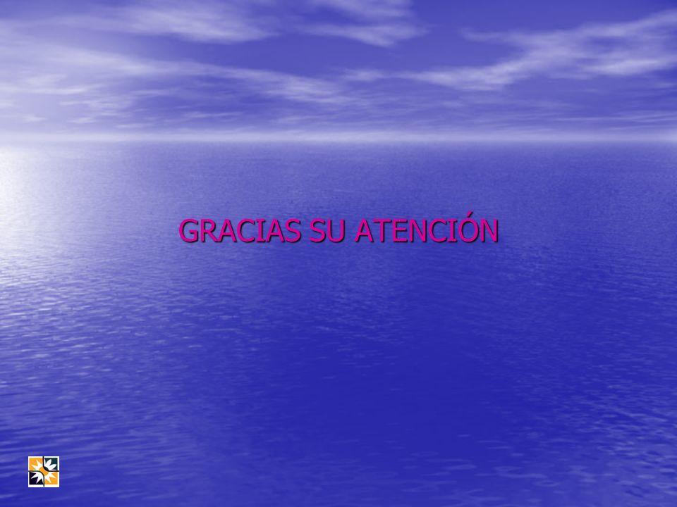 GRACIAS SU ATENCIÓN