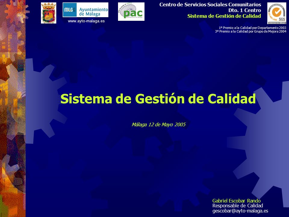 Centro de Servicios Sociales Comunitarios Dto.