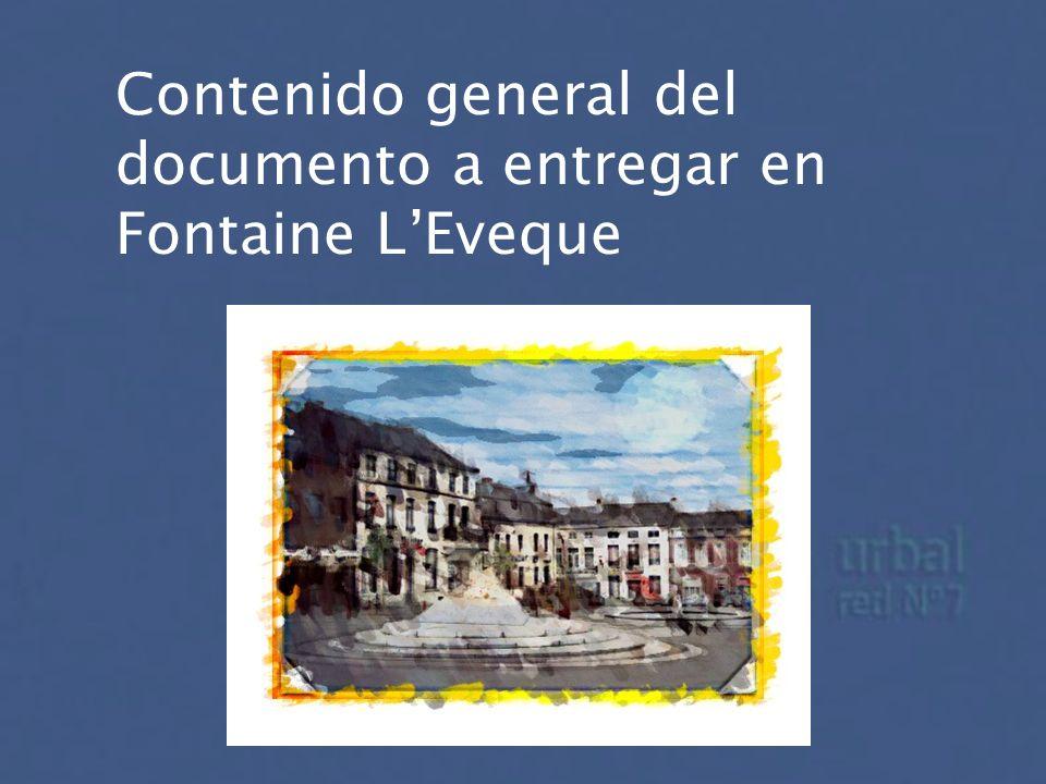 Contenido general del documento a entregar en Fontaine LEveque
