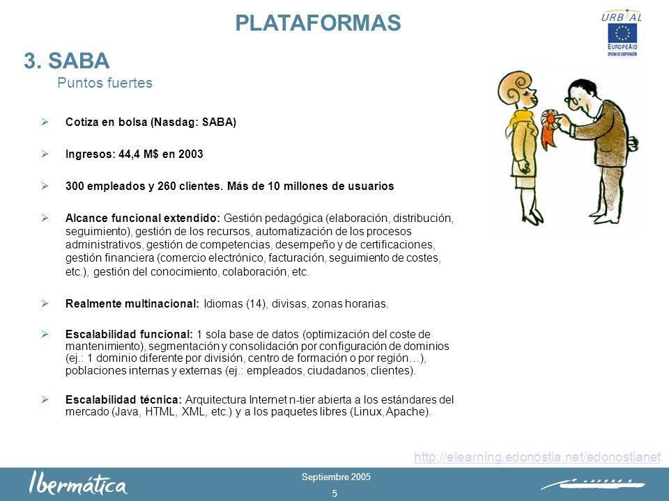 Septiembre 2005 5 3.