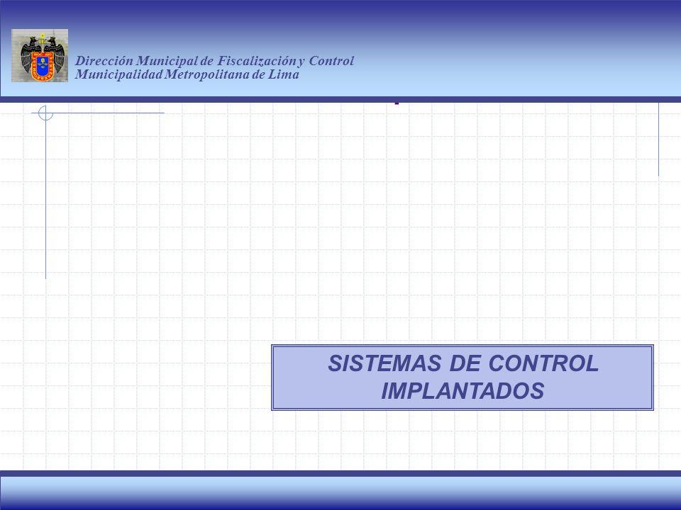 Haga clic para modificar el estilo de título del patrón Dirección Municipal de Fiscalización y Control Municipalidad Metropolitana de Lima 3 Por las continuas infracciones a las normas municipales esta discoteca fue CLAUSURADA ATENCION DE DENUNCIAS Y OPERATIVOS A CENTROS RUIDOSOS