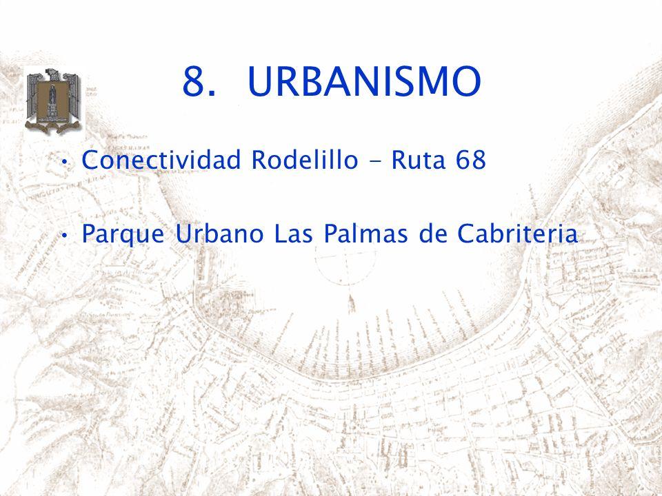8.URBANISMO Conectividad Rodelillo - Ruta 68 Parque Urbano Las Palmas de Cabriteria