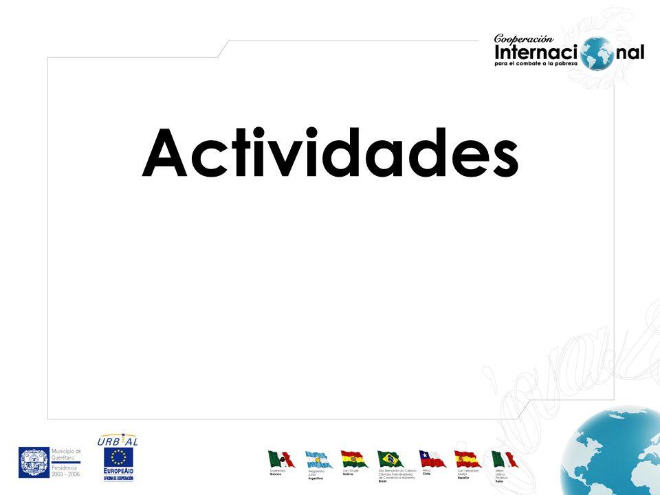 Actividad 1: Elaborar Diagnósticos Se elaboraron tres diagnósticos, el primero sobre la situación de pobreza en la localidad, el segundo sobre experiencias municipales en la aplicación de programas y el tercero sobre instituciones que otorgan apoyos a municipios.