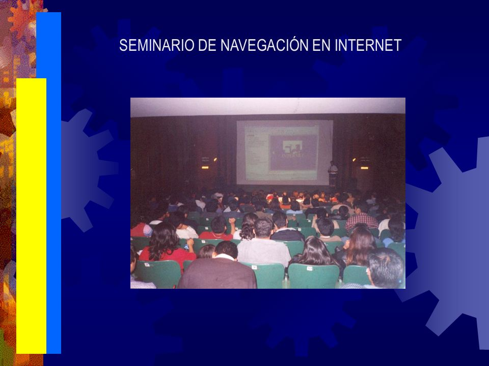 SEMINARIO DE NAVEGACIÓN EN INTERNET