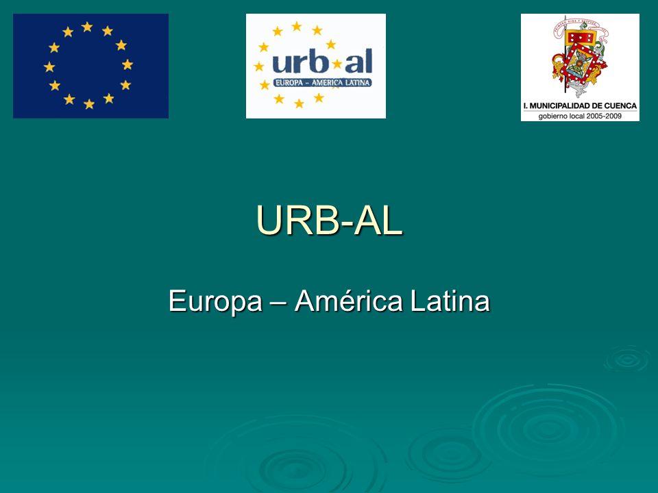 URB-AL Europa – América Latina