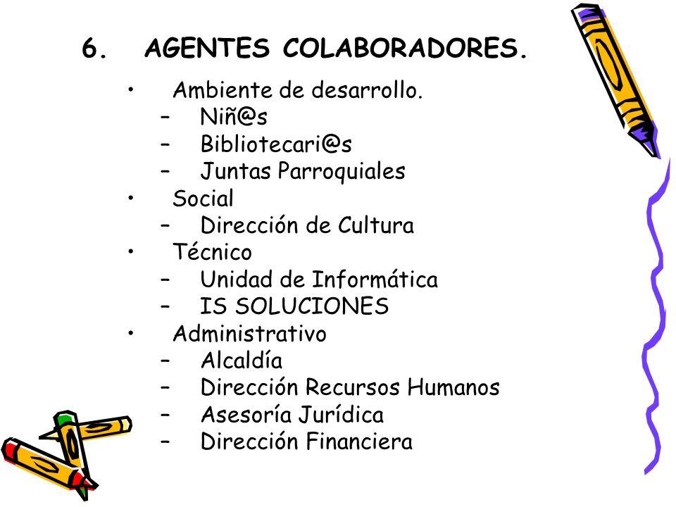6.AGENTES COLABORADORES. Ambiente de desarrollo.