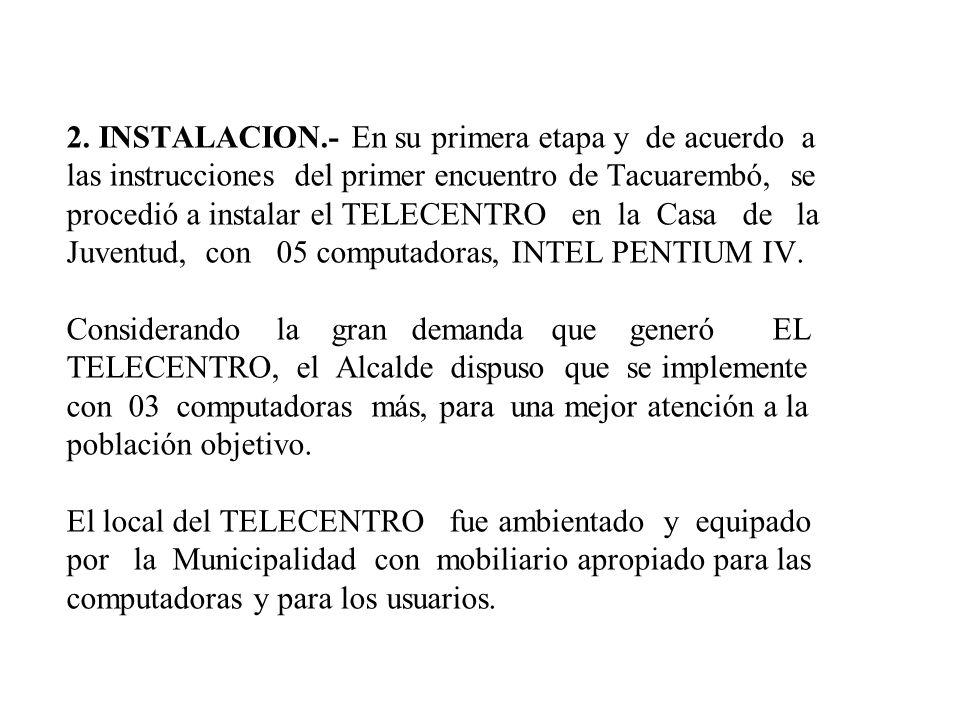 TELECENTRO 1.