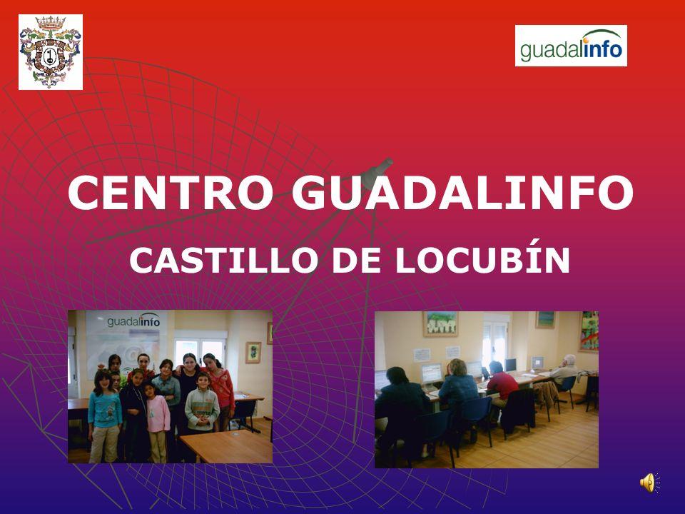 CENTRO GUADALINFO CASTILLO DE LOCUBÍN