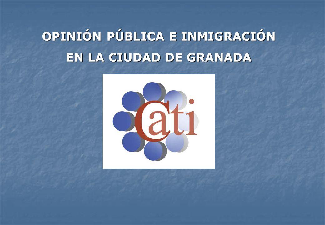 OPINIÓN PÚBLICA E INMIGRACIÓN EN LA CIUDAD DE GRANADA
