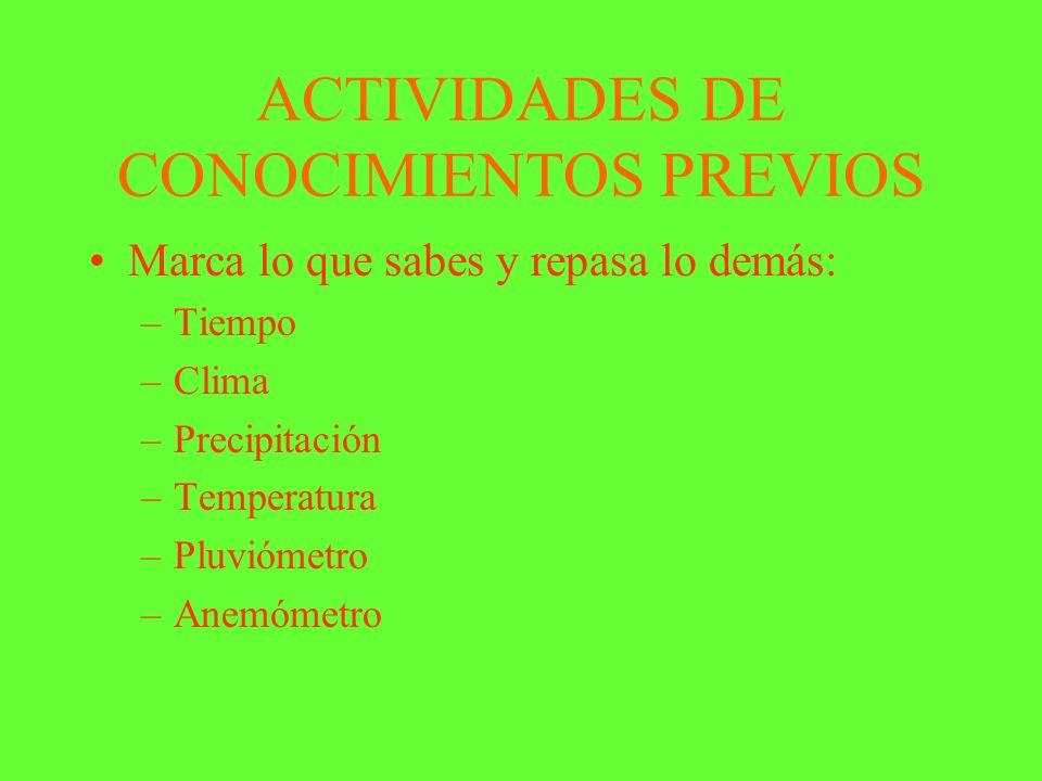 ANEXO DE ACTIVIDADES