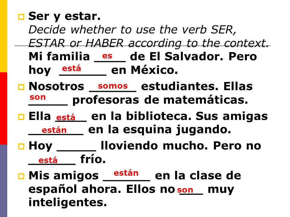 Sustantivos Sustantivo= noun -una persona, animal, lugar o cosa (a person, animal, place or thing) -Todos los sustantivos tienen GENERO y NUMERO (all nouns have gender and number) -Masculino (-O, -L, -R) -Femenino (-A, -D, -ON) Numero: Genero: Singular (1) Plural (2+)