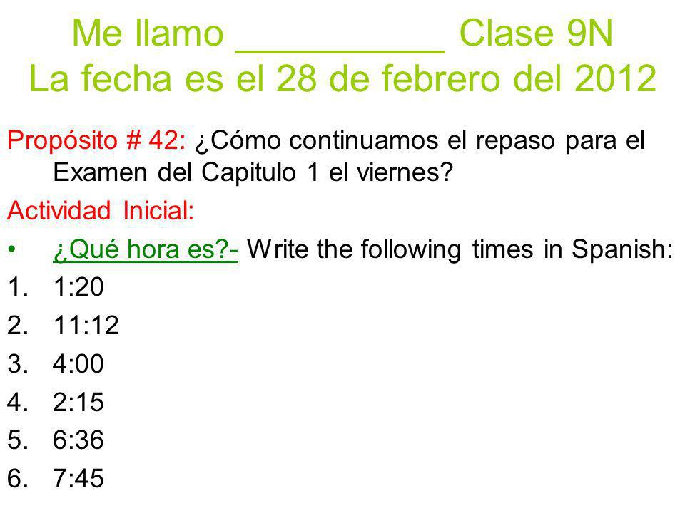 Practica Escucha y completa- Listen to each expression and place it on the correct side of the graphic organizer.