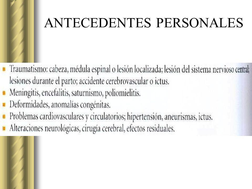 GNOSIA (no tiene el concepto) transtorno de la identificación PROSOPAGNOSIA.