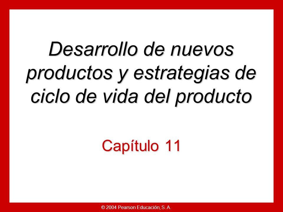 © 2004 Pearson Educación, S.A. Fase 7: Prueba comercial.