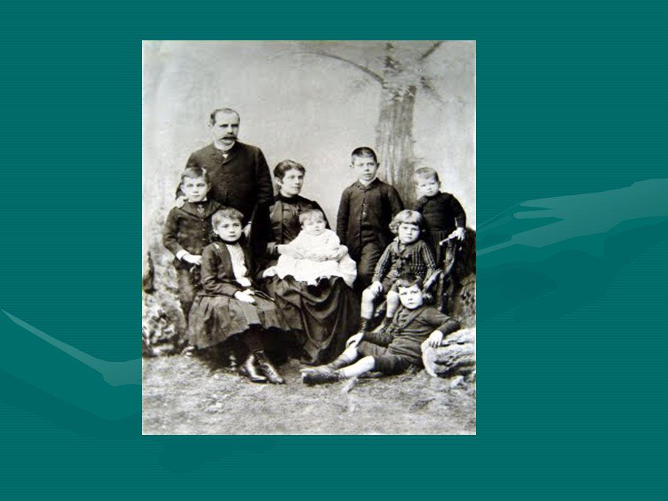 Las familias en el pasado