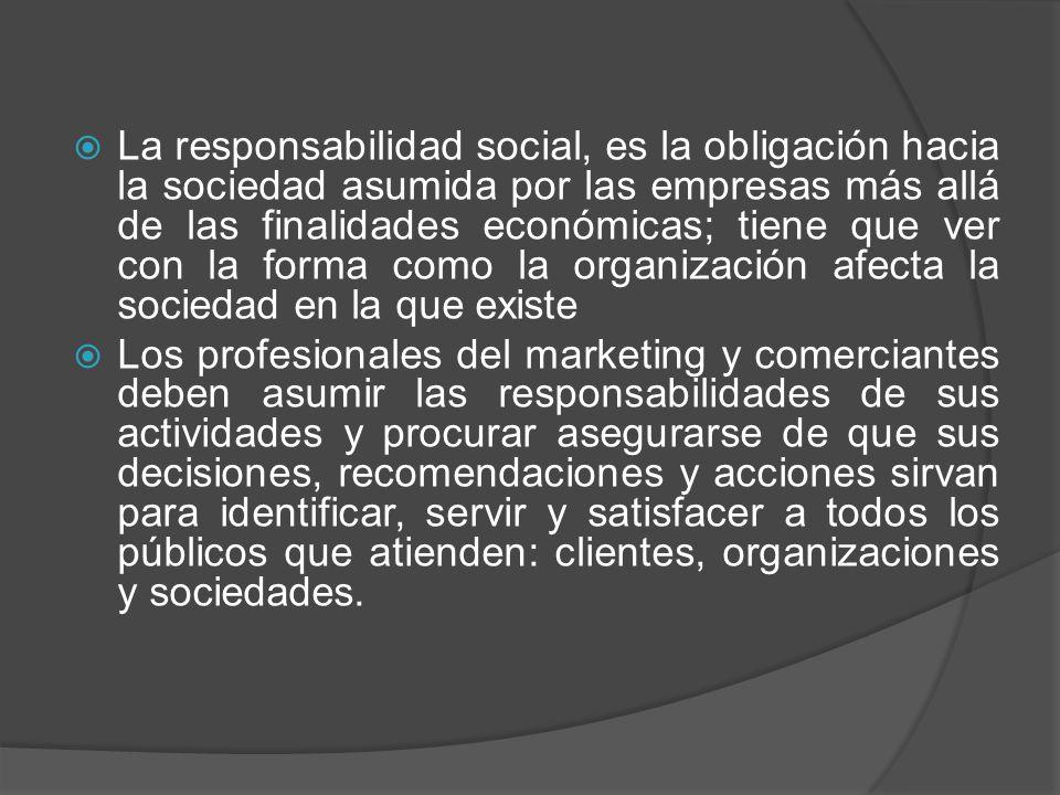 Critica Hacia la Mercadotecnia El marketing recibe muchas críticas.