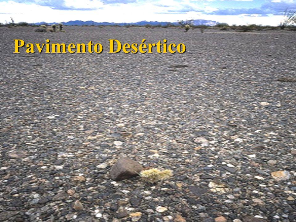 Formación del Pavimento Desértico