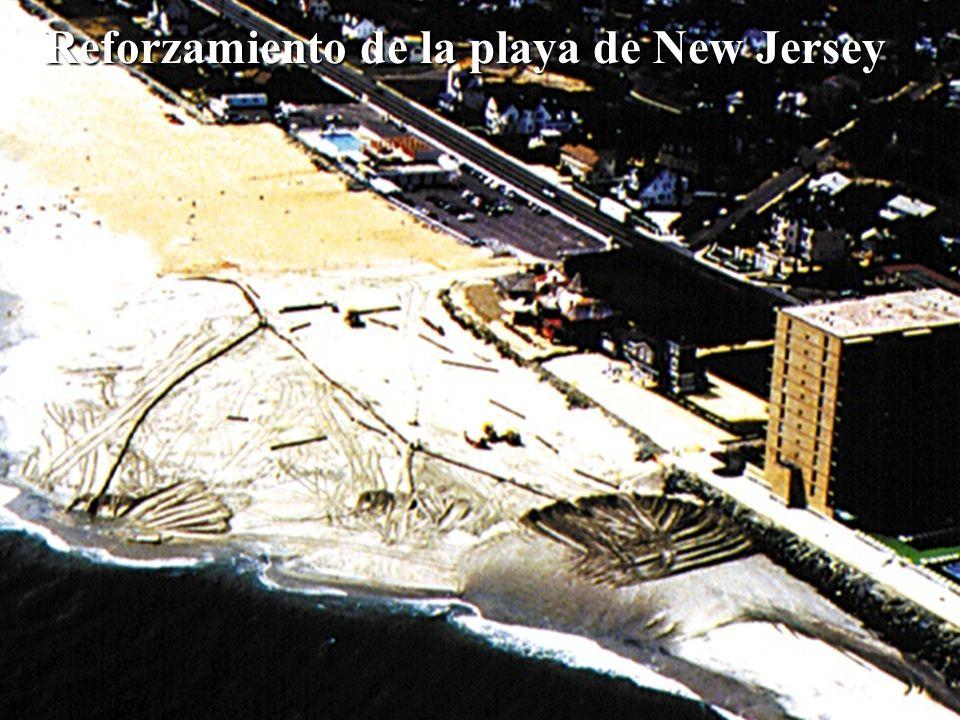 Reforzamiento de la playa de New Jersey
